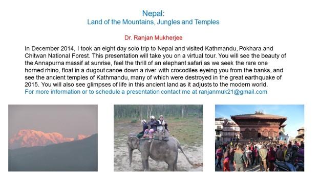 Nepal trip intro