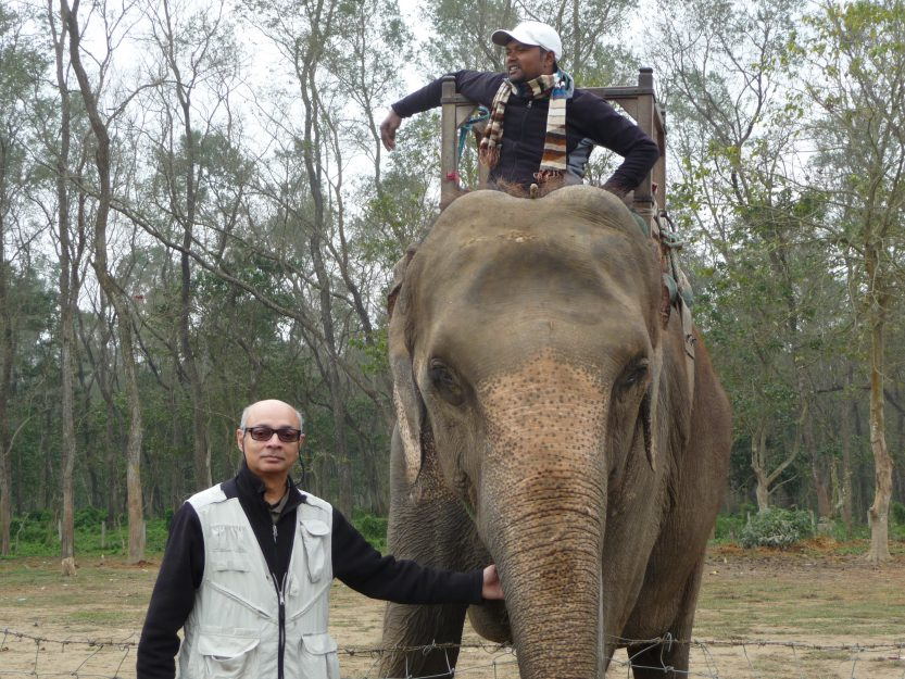 Thanking Champakali, Chitwan Reserve, Nepal