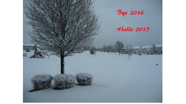 Bye 2016 Hello 2017