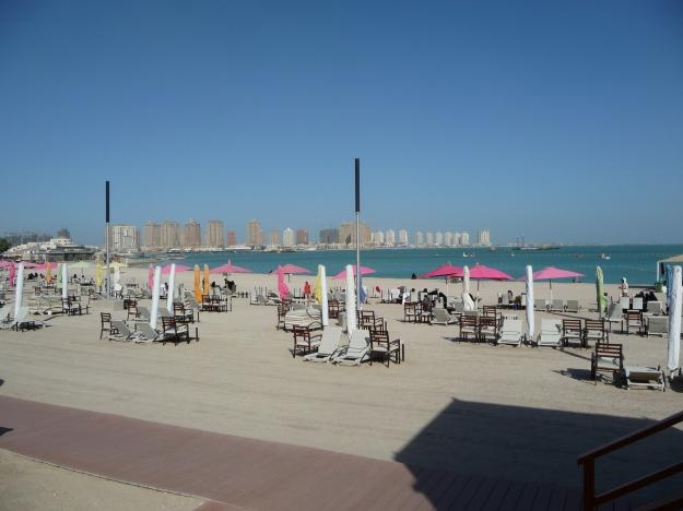 Beach and Pearl Qatar Doha