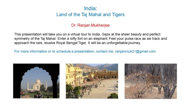 India trip presentation summary