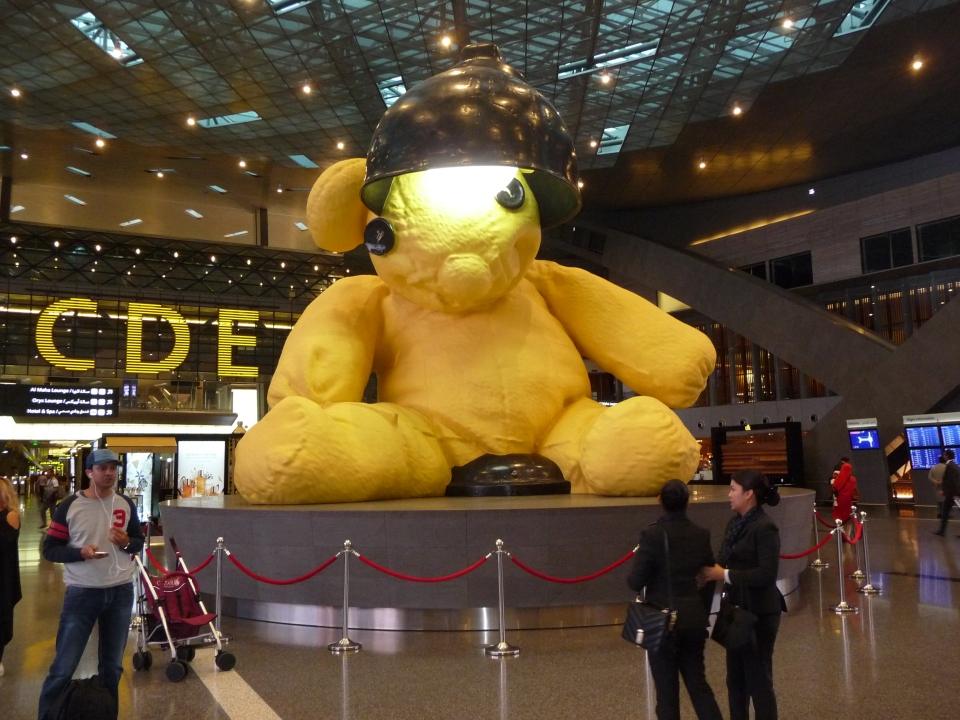 The Bear, Hamad Airport, Doha