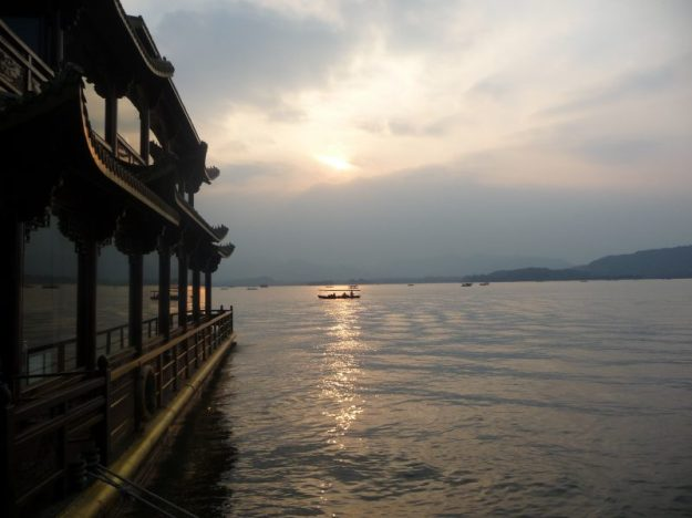 View of West Lake, Hangzhou, China
