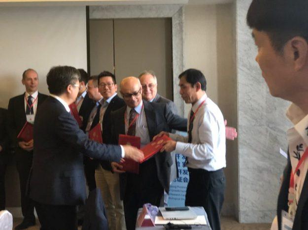 Camaraderie at the Hangzhou meeting