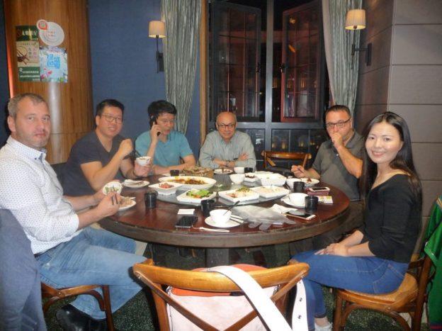 Dinner, Hangzhou Restaurant