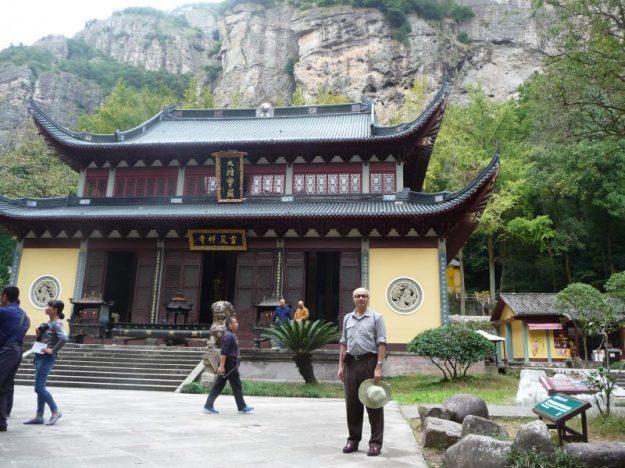 Buddhist temple, Yandang Mountains, Zhejian, China