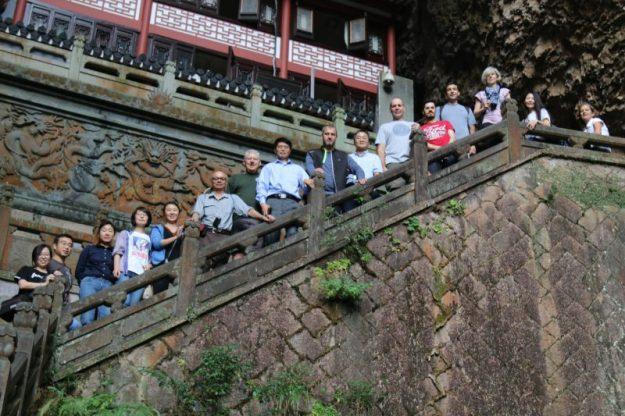 Group photo, Guanyin temple, Yandang Mountains