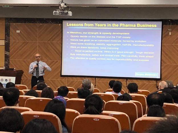 My talk at the FGF conference, Wenzhou, China 2018