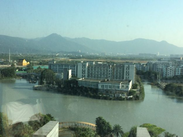 View from my hotel room, Wenzhou, China