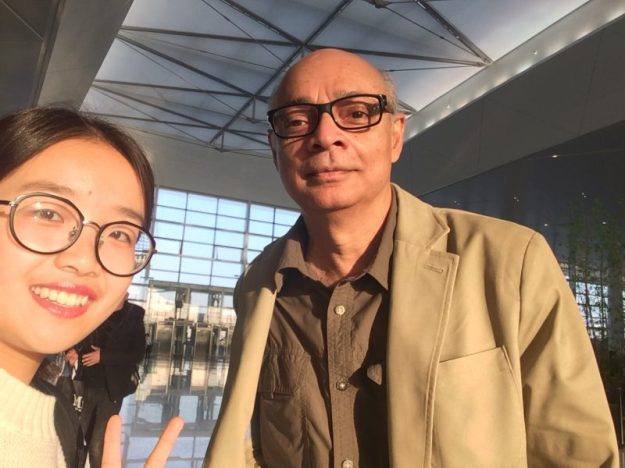 Chen and I at Wenzhou airport
