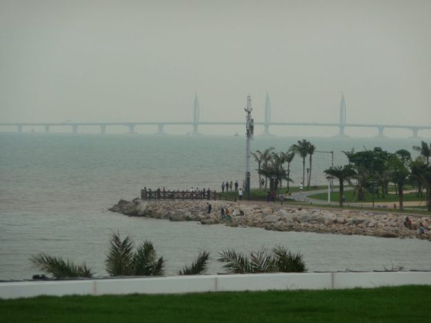 Bridge connecting Zhuhai to Macau