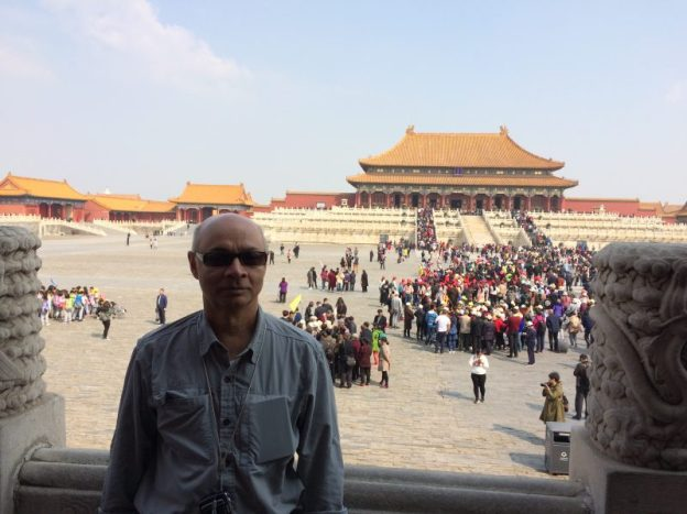 At the Forbidden City, Beijing
