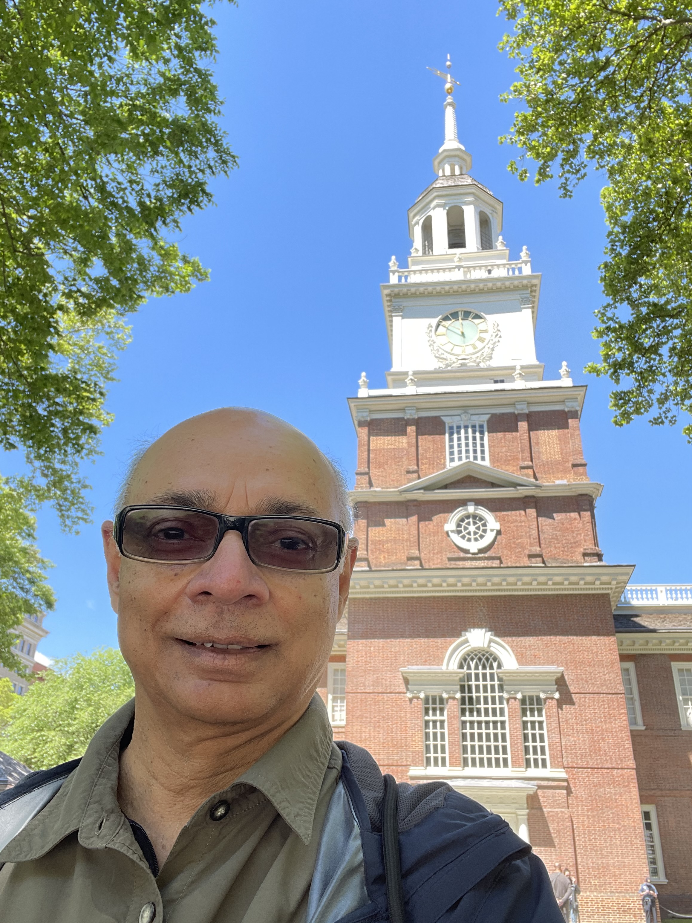 South face of Liberty Bell Tower, Independence Hall