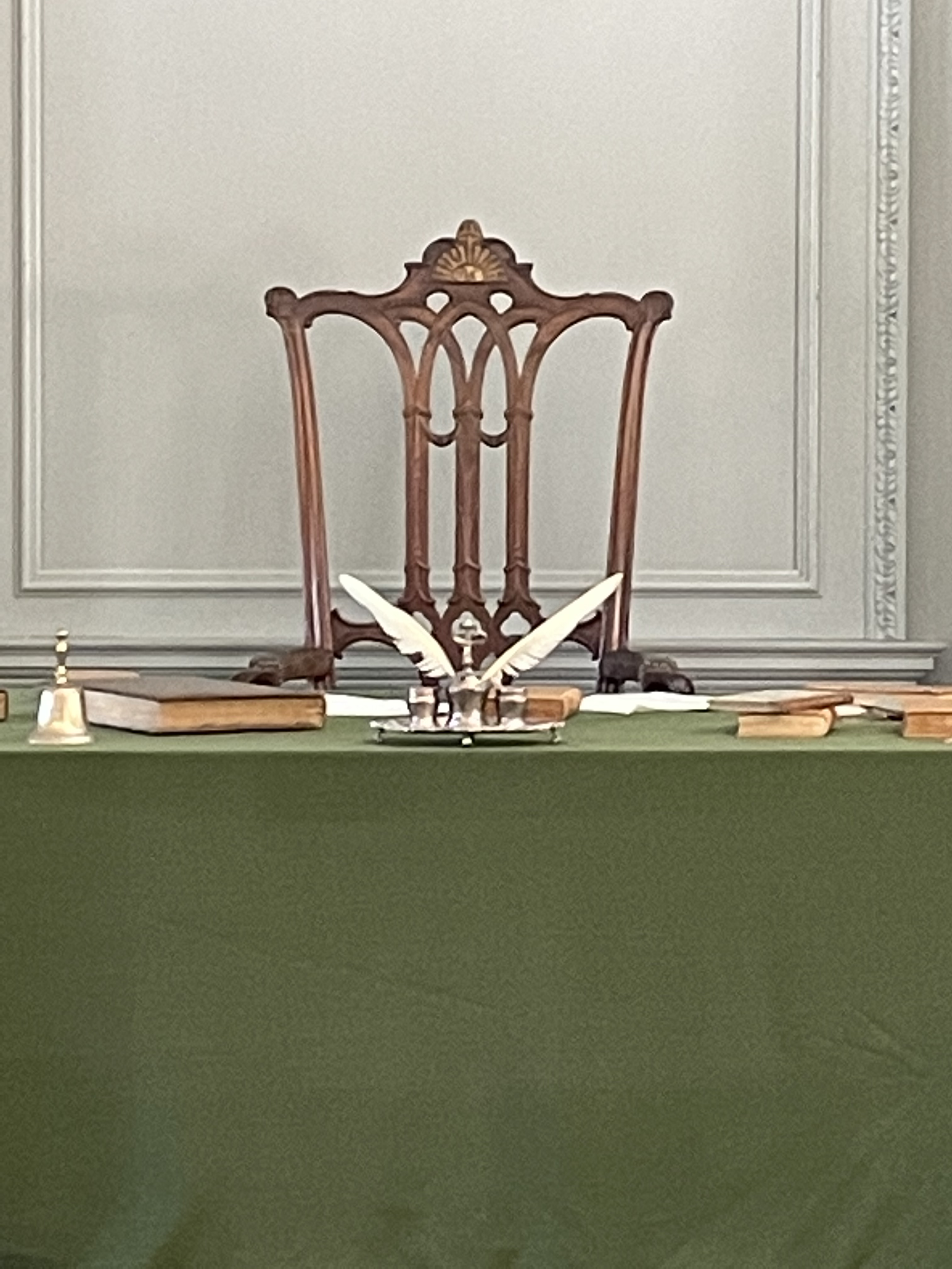 President's chair, Assembly Room, Independence Hall