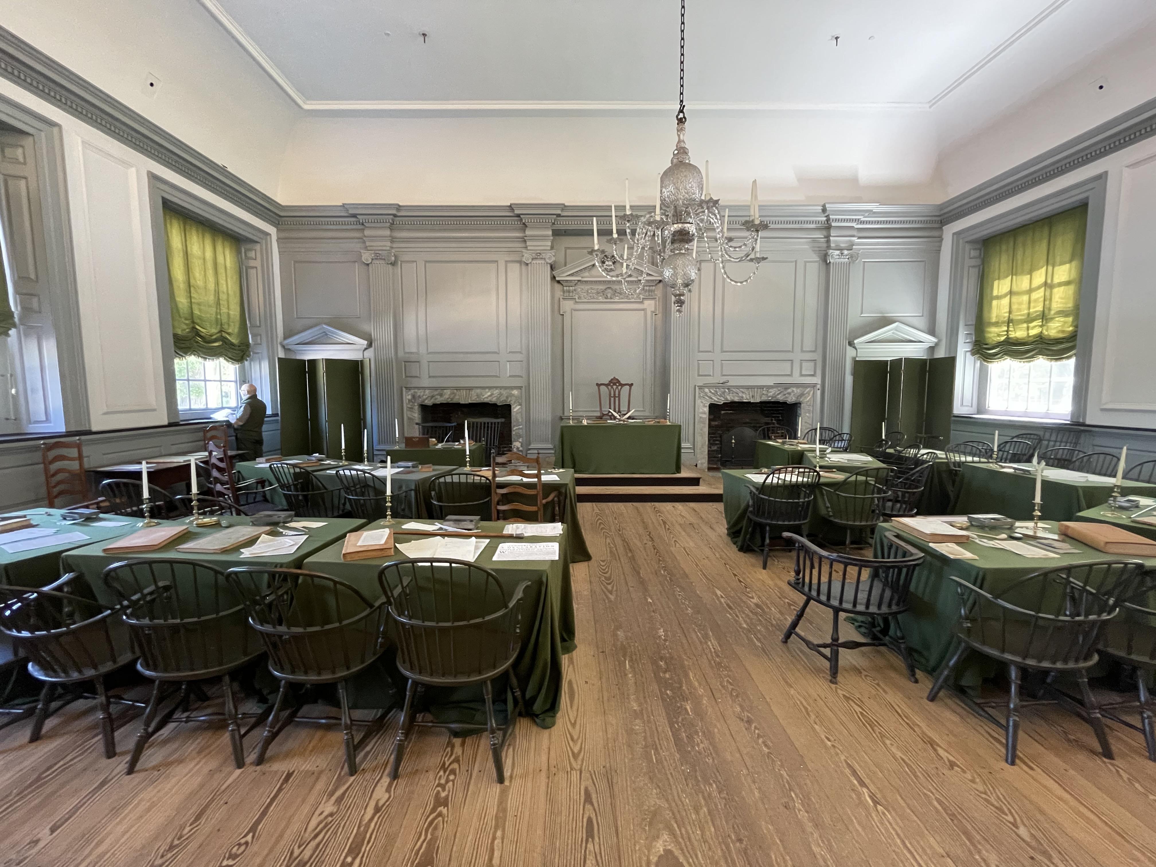 Assembly Room, Independence Hall, Philadelphia