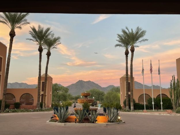 View from Scottsdale Marriott